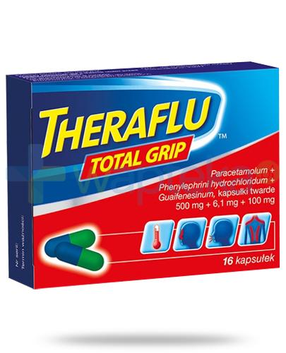Theraflu Total Grip 16 kapsułek