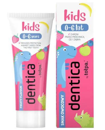 Tołpa Dentica Kids pasta do zębów dla dzieci 0-6 lat smak owocowy 50 ml