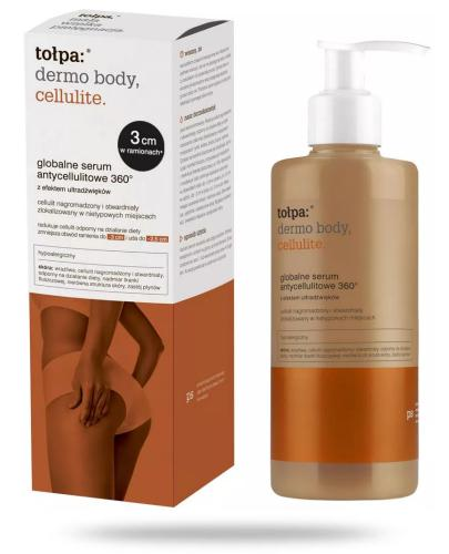 Tołpa dermo body cellulite globalne serum antycellulitowe 360° 250 ml