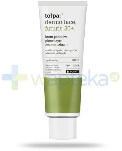 Tołpa Dermo Face Futuris 30+ krem bogaty SPF15 przeciw pierwszym zmarszczkom na dzień 40 ml