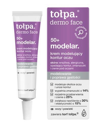 Tołpa Dermo Face Modelar 50+ krem modelujący kontury oczu 10 ml