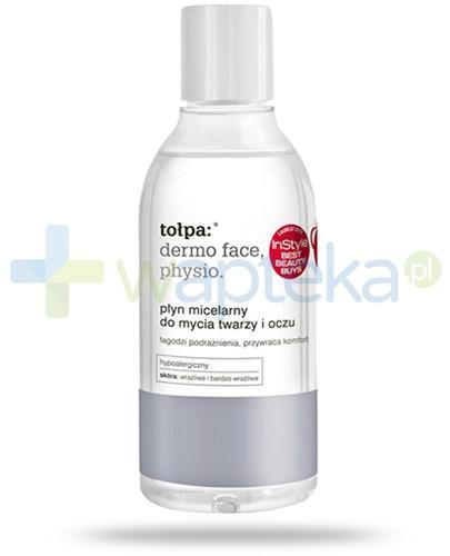 Tołpa Dermo Face Physio płyn micelarny do mycia twarzy i oczu 200 ml