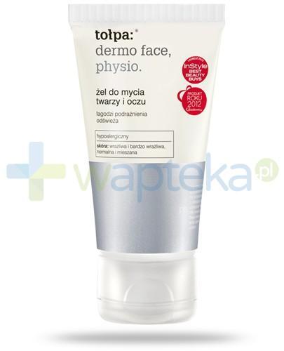 Tołpa Dermo Face Physio żel do mycia twarzy i oczu 150 ml