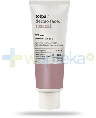 Tołpa Dermo Face Rosacal krem CC wzmacniający wyrównujący koloryt 40 ml