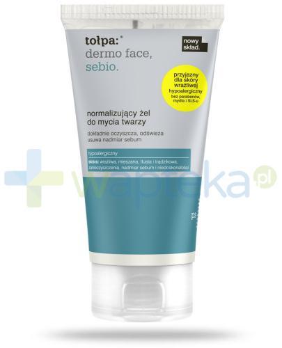 Tołpa Dermo Face Sebio Normalizujący żel do mycia twarzy 150 ml