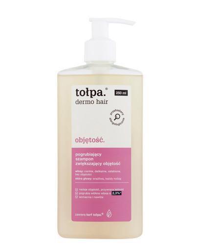 Tołpa Dermo Hair Objętość pogrubiający szampon zwiększający objętość 250 ml