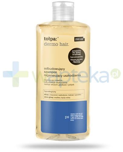 Tołpa Dermo Hair odbudowujący szampon regenerujący uszkodzenia 250 ml [Data ważności 31-10-2018]