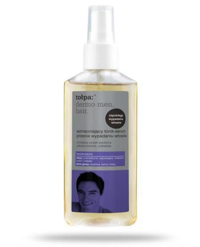 Tołpa Dermo Men Hair wzmacniający tonik-serum przeciw wypadaniu włosów 100 ml