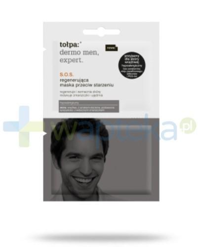 Tołpa dermo men expert S.O.S. regenerująca maska przeciw starzeniu 2x6 ml