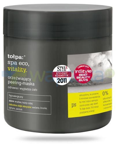 Tołpa Spa Eco Vitality orzeźwiający peeling-maska 250 ml