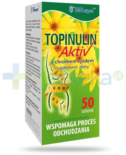 Topinulin Activ 50 tabletek