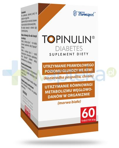 Topinulin Diabetes 60 tabletek