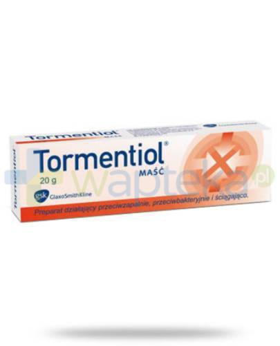 Tormentiol maść 20 g