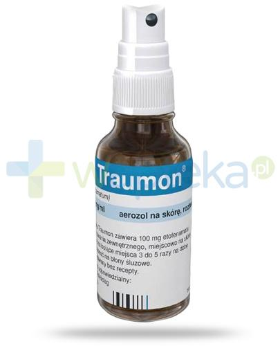 Traumon 100mg/g aerozol na skórę 50 ml