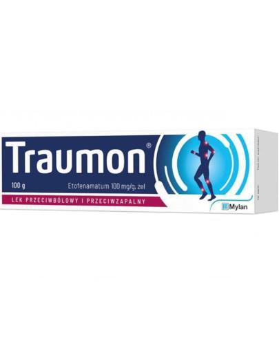 Traumon 100mg/g żel 100 g