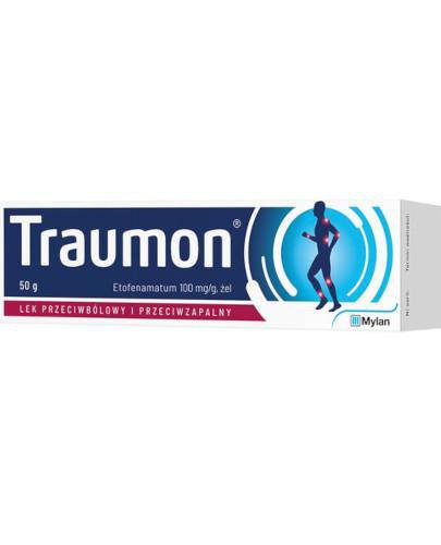 Traumon 100mg/g żel 50 g