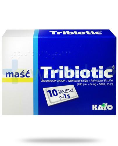 Tribiotic maść 10 saszetek