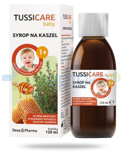 Tussicare baby syrop na kaszel dla dzieci 120 ml