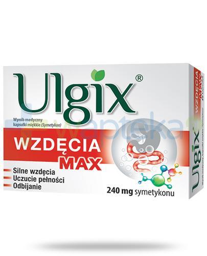 Ulgix Wzdęcia Max 15 kapsułek