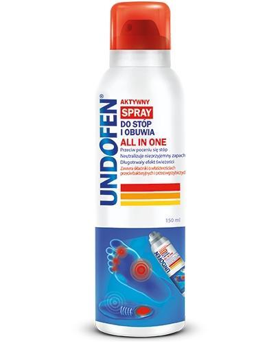 Undofen Antygrzybiczny spray do stóp i obuwia All in One 150 ml