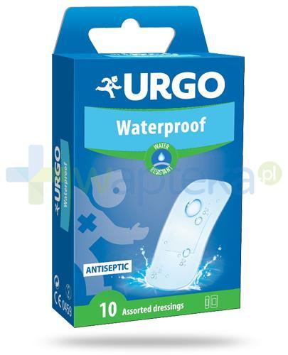 Urgo Waterproof wodoodporne plastry 10 sztuk