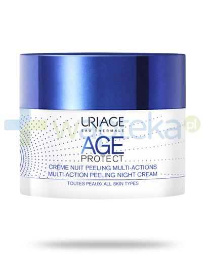 Uriage Age Protect pilingujący krem multiaction na noc 50 ml
