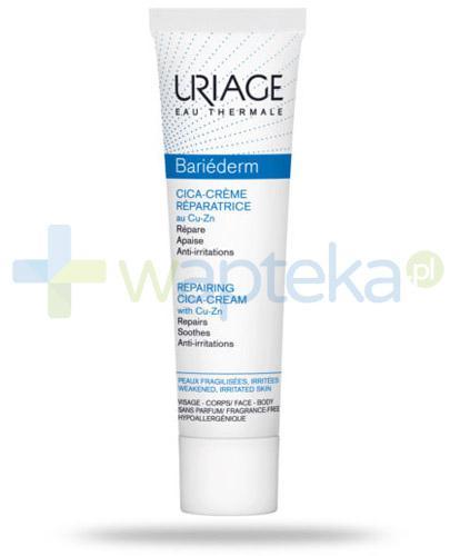 Uriage Bariederm Cica krem regenerujący z Cu-Zn na drobne uszkodzenia skóry 40 ml