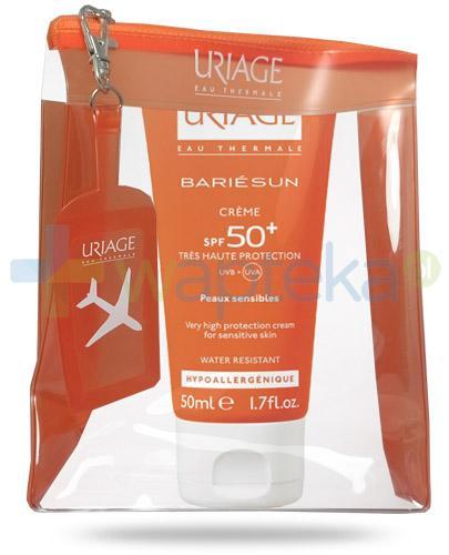 Uriage Bariesun krem do twarzy i ciała SPF50+ dla skóry normalnej i wrażliwej 50 ml + kosmetyczka podróżna GRATIS - Data ważności 30-06-2017