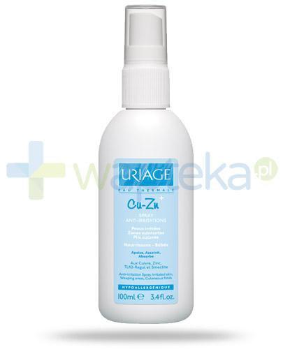 Uriage CU-ZN gojący spray do skóry podrażnionej 100 ml