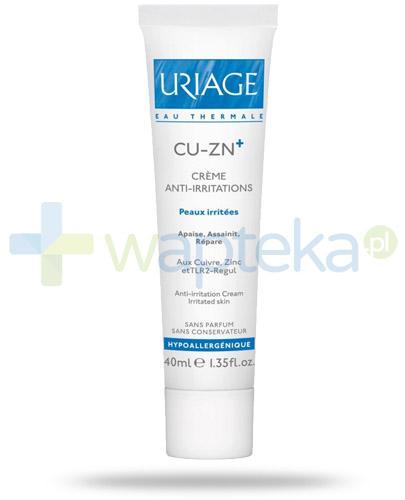 Uriage CU-ZN krem do skóry podrażnionej 40 ml