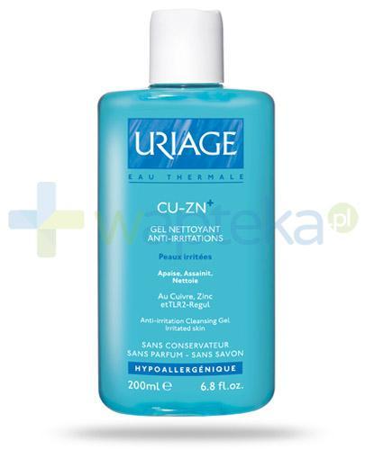 Uriage CU-ZN+ żel myjący do skóry podrażnionej 200 ml
