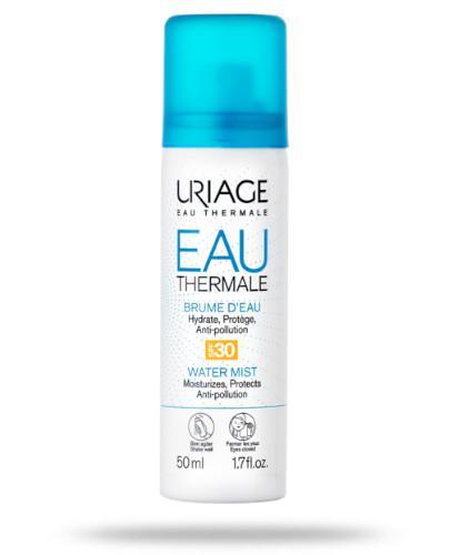 Uriage Eau Thermale nawilżająco-ochronna mgiełka termalna SPF30 w spray'u 50 ml