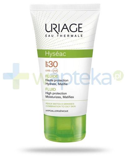 Uriage Hyseac fluid przeciwsłoneczny SPF30 do skóry trądzikowej 50 ml