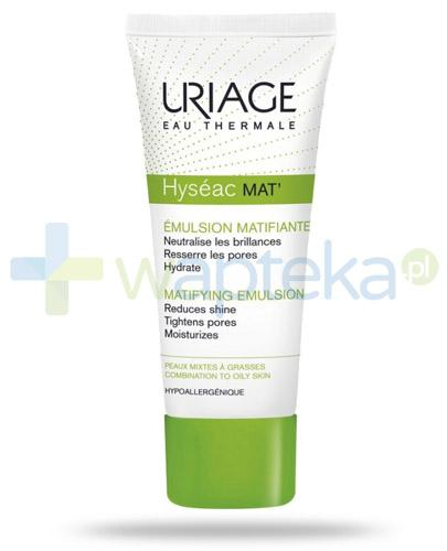 Uriage Hyseac Mat krem redukujący błyszczenie skóry 40 ml