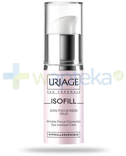 Uriage Isofill krem pod oczy korygujący zmarszczki 15 ml