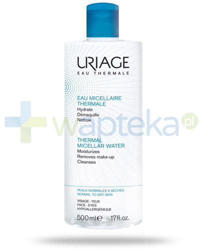 Uriage woda micelarna do skóry normalnej i wrażliwej 500 ml