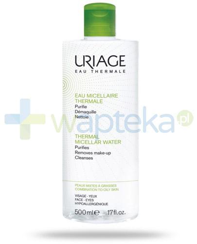 Uriage woda micelarna do skóry tłustej i mieszanej 500 ml