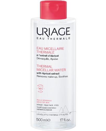 Uriage woda micelarna do skóry wrażliwej i naczynkowej 500 ml