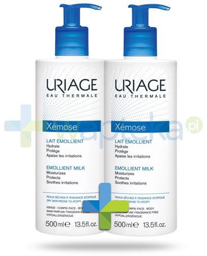 Uriage Xemose mleczko do skóry suchej 2x 500 ml [DWUPAK]