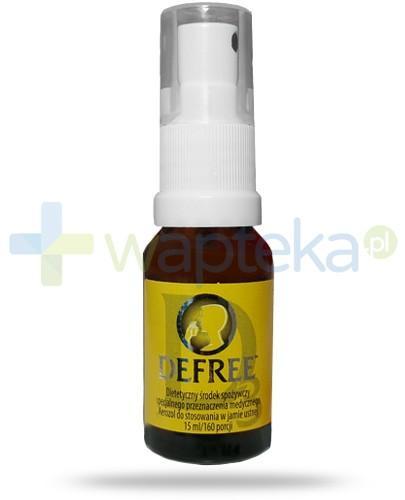 Defree D3 aerozol do stosowania w jamie ustnej 15 ml