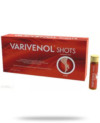 Varivenol Shots dla nóg 20x 10 ml