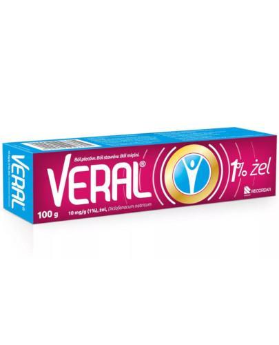 Veral 10 mg/g (1%) żel 100 g