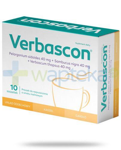 Verbascon proszek do rozpuszczania 10 saszetek