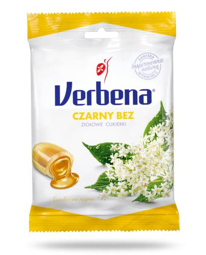 Verbena Czarny bez cukierki ziołowe 60 g