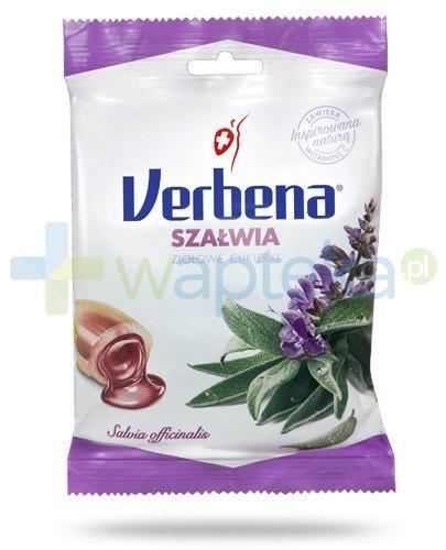Verbena Szałwia cukierki ziołowe 60 g