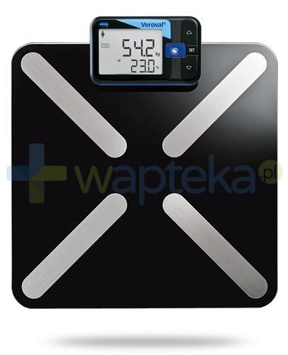 Veroval inteligentna waga elektroniczna i analizator składu ciała 1 sztuka