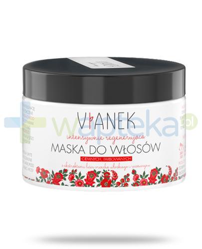 Vianek intensywnie regenerująca maska do włosów ciemnych, farbowanych z ekstraktami liści orzecha włoskiego i rozmarynu 150 ml