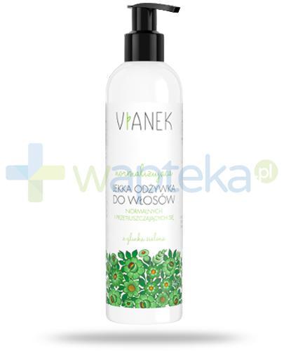 Vianek normalizująca lekka odżywka do włosów z glinką zieloną 300 ml
