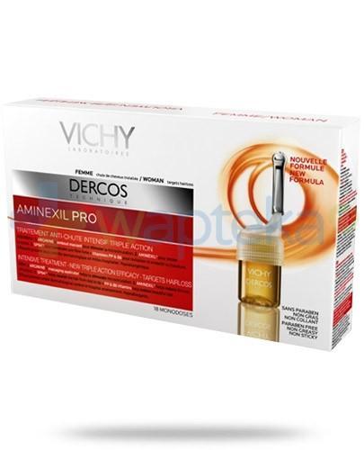 Vichy Dercos Aminexil Pro płyn przeciw wypadaniu włosów dla kobiet 18 ampułek