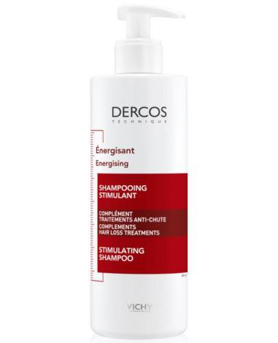 Vichy Dercos szampon energetyzujący z aminexilem do włosów 400 ml